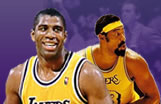 L.A. Lakers pictures, history, records, championships, and data about Kobe Bryant and players like Magic Johnson