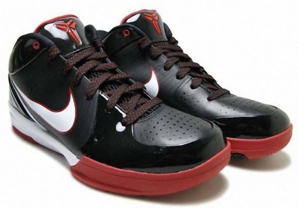 save off 8b718 b4932 Kobe Bryant Shoes Pictures  Nike Zoom Kobe IV 4 Black and Red Edition  Picture 01