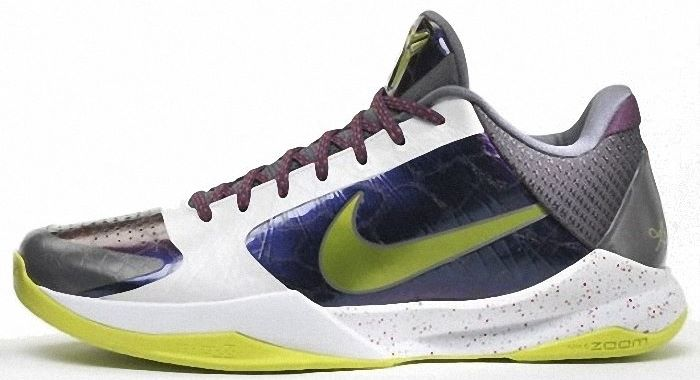 superior quality c22e2 cf65d Kobe Bryant Shoes Pictures  Nike Zoom Kobe V 5 Chaos Edition, 2010 NBA  Season, Picture 3