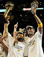 Los Angeles Lakers Championships
