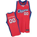 Custom DeMarcus Cousins Los Angeles Clippers Nike Red Road Jersey