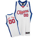 Custom DeMarcus Cousins Los Angeles Clippers Nike White Home Jersey