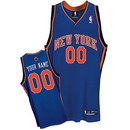 Custom Mitchell Robinson New York Knicks Nike Blue Road Jersey